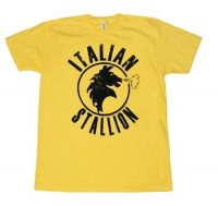 Rocky Clothing - Italian Stallion Logo T-Shirt By Animation Shops