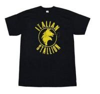 Rocky Movie Shirts - Rocky Italian Stallion Logo T-Shirt by Animation Shops