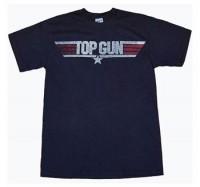 Top Gun Clothing - Top Gun Movie Logo T-Shirt by Animation Shops