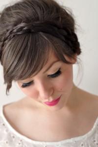 keiko lynn: Hair Tutorial: braided 'do