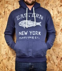 CXXVI Clothing Co. — Eastern Fish Blue Hooded