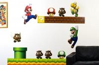 Nintendo Wall Graphics - New Super Mario Bros | Fancy Crave