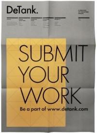 Detank Poster | Gridness — Designspiration