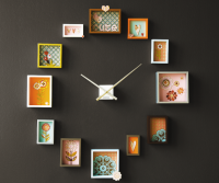 Passe-Partout Photo Frame Clock | Apartment Therapy Ohdeedoh