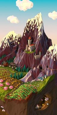 JR Schmidt - Polygonal Posters & Geometric Landscapes - Creativitea