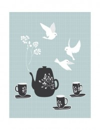 Tea For Three by yumiyumi on Etsy