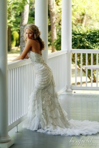 We're getting married! / oh. my. gah. This dress is gorgeous!!