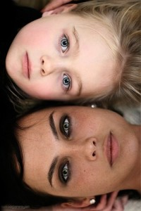 Photography / mother and daughter...do this every year & see how you change...could do with father and son, too. Love this idea