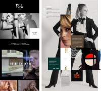 YVES SAINT LAURENT 2011 - we are type
