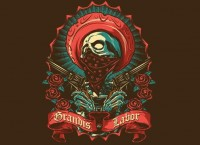 """Grandis Labor II"" - Threadless.com - Best t-shirts in the world"