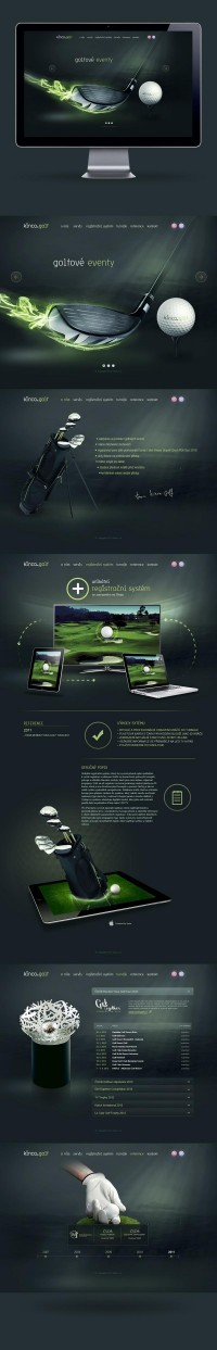 kinca.golf on Web Design Served