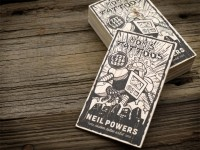 All sizes | Mom's Tattoos Balsa Wood Letterpress Business Cards | Flickr - Photo Sharing!