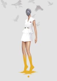 Ignasi Monreal Couture Illustrations for V Magazine Spain   Trendland: Fashion Blog & Trend Magazine