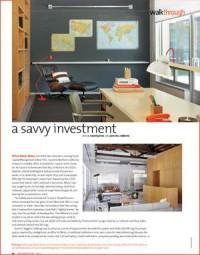 A Savvy Investment - 2011-01-01 20:49:00   Interior Design