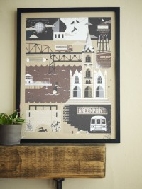 Greenpoint Brooklyn Neighborhood Series / Limited by twoarms
