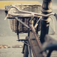 Old Vintage Bycicle Fine Art Photography 8 x 8 by Andrekart