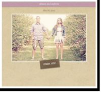 Custom Wedding Websites – WeddingWindow.com – Create a FREE Website