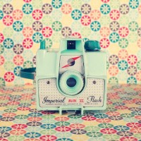Colourful Camera Photography Home Decor Still Life by Andrekart
