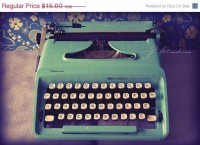 FALL SALE Typewriter Fine Art Photography by j2studiosphotography