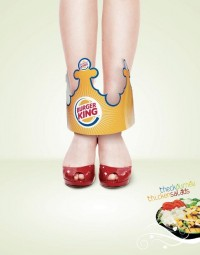 Sáng t?o v?i nh?ng qu?ng cáo c?a th??ng hi?u Burger King | Y2Graphic - Freelance web & Graphic designer | Graphic Design