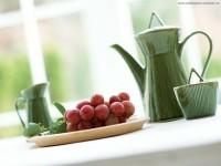 fruits,tea tea fruits cups grapes kettle 1600x1200 wallpaper – Fruits Wallpapers – Free Desktop Wallpapers