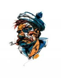 Super Rad Illustrations by Viktor Miller-Gausa   Abduzeedo   Graphic Design Inspiration and Photoshop Tutorials