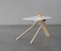Tripod Side Table by Noon Studio | The Design Home