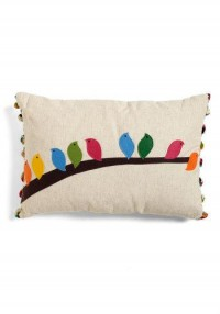 Flock of the Draw Bird Pillow | Mod Retro Vintage Decor Accessories | ModCloth.com