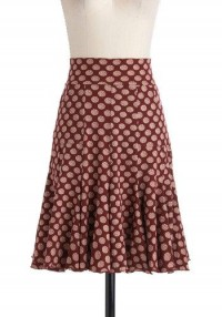 To Etch Her Own Skirt | Mod Retro Vintage Skirts | ModCloth.com