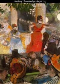 Café Concert At Les Ambassadeurs - Edgar Degas - www.edgar-degas.org