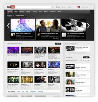 YouTube Redesign 2011 on the The National Design Awards Gallery