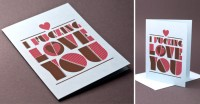 I Fucking Love You Card |55His