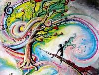 Dreams Create Reality: paintings
