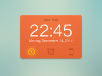 Clock Widget by Valik Boyev