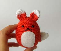 Crochet Fox plush par sabahnur sur Etsy