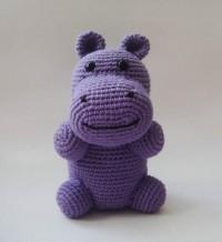 Natural Purple Hippopotamus par sabahnur sur Etsy