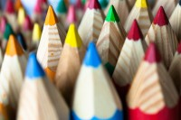 Download Wallpapers, Download 1920x1280 closeup macro depth of field pencils colouful 1920x1280 wallpaper Wallpaper –Free Wallpapers Download
