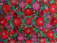 Embroidery Hungarian Magyar Matyo Folk Art by closencounters