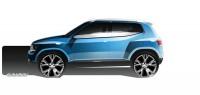 Volkswagen Taigun Concept - Design Sketch - Car Body Design