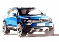 Volkswagen Taigun Concept - Design Sketch - Car Body Design