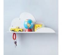 Kids' Storage: Kids' Wall Cloud Shelf in Shelf & Wall Storage
