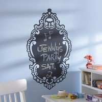 Kids' Wall Decals: Ornate Chalkboard Wall Decal in Party Décor