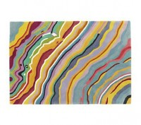 Kids Rugs:Colorful Wave-like Patterned Rug in All Rugs
