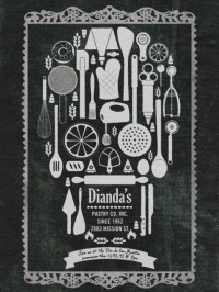 Dianda's Bakery: Día de los Muertos invitation | Ads of the World™