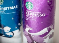It's Christmas time atStarbucks - TheDieline.com - Package Design Blog
