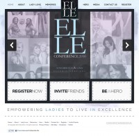 Ministry CSS – A CSS gallery designed to inspire | Elle 2010