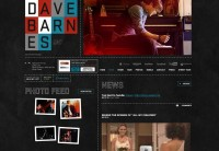Dave Barnes - Flash Websites - Creattica