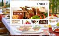 Epicure XML Website Template with Deep Linking - Flash Websites - Creattica