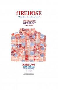 "Poster Design: ""fIREHOSE Reunion Tour 2012"" | Aaron Winters | Sacramento"