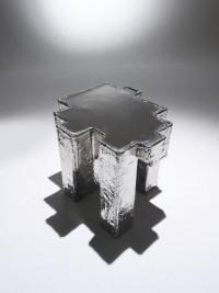 Studio Nucleo Nickel Fossil coffee table Nucleo_Piergiorgio Robino+Stefania Fersini | Studio Nucleo